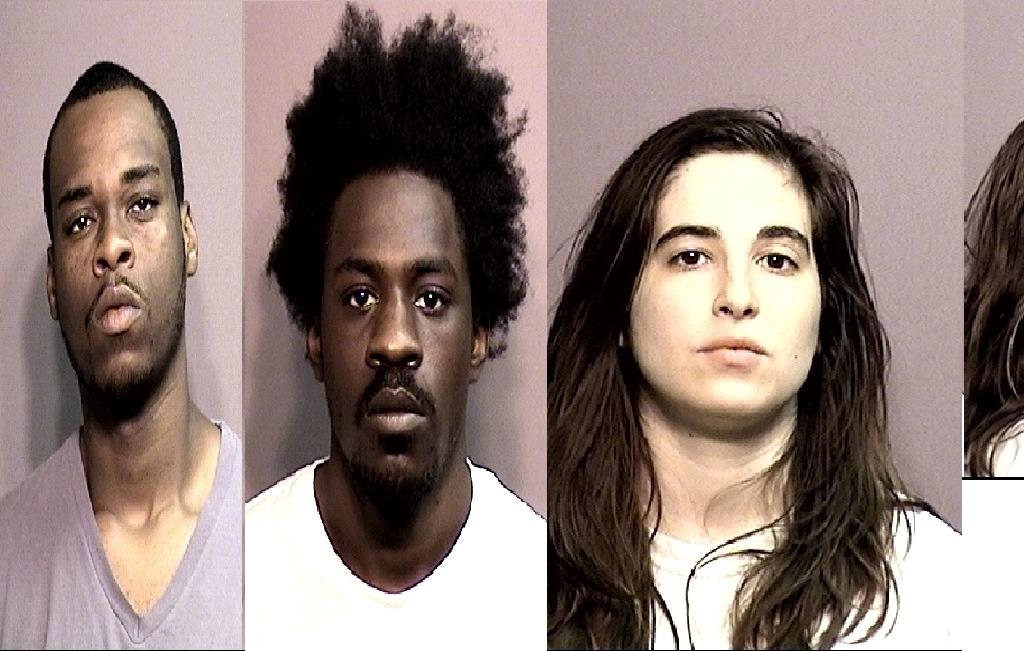 Centralia Police nab three people in an apparent drug bust. Lieutenant